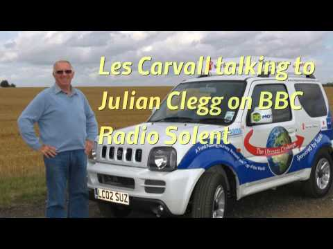 Les Carvall Radio Interview from Vladivostok