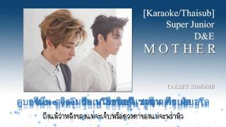 [Karaoke/Thaisub] Super Junior D&E - Mother