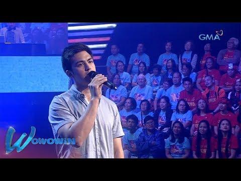 Wowowin: 'Ikaw Na Nga,' inawit ni Derrick Monasterio