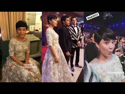 Janna Nick dressing macam princess di Anugerah Skrin 2017 | ASK17