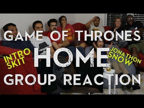 Game of Thrones - 6x2 Home - Group Reaction + Skit [Jon Snow Scene]
