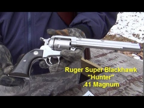 Ruger Super Blackhawk Hunter .41 magnum