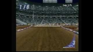 EA Sports SuperCross (Playstation) Game Play