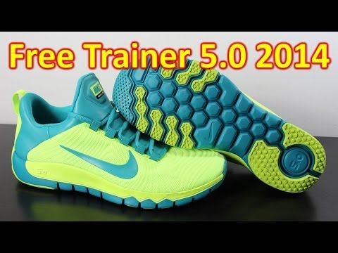 Nike Free Trainer 5.0 2014 Volt/Turbo Green - Review + On Feet
