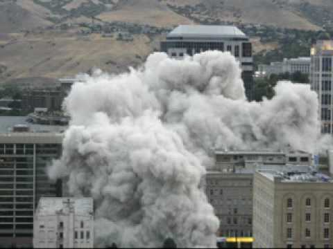 Key Bank Building Implosion / Demolition