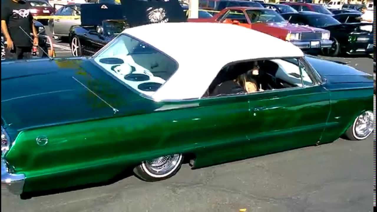 1963 Chevy Impala hittin Lowrider Cars Impala