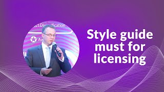 Style guide must for licensing