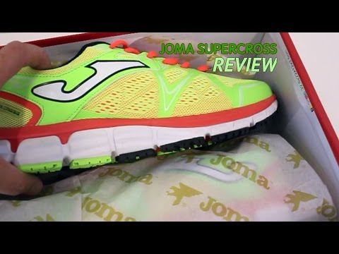 Joma Supercross, analisis review de la nueva zapatilla de running de pisada neutra