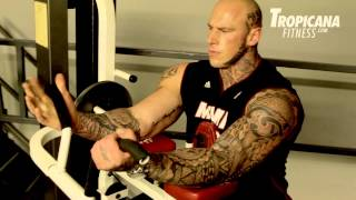 Arms Workout with Undisputed IV:Boyka. Bad Guy  Martyn Ford
