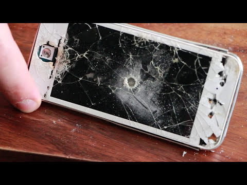 Crash Test iPhone 5s / Убиваем iPhone 5s