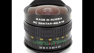 Zenitar 16mm  Fisheye Lens İncelemesi - Review