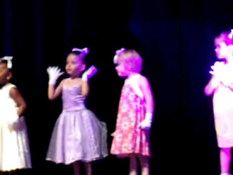 Christina's recital 4 years old_&quot;I enjoy being a girl&quot;.MOV