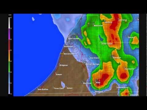 Severe Thunderstorm - Berrien - Cass Counties Michigan July 22, 1995