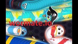 Wormate.io #99   Trò chơi rắn săn mồi   Game rắn săn mồi
