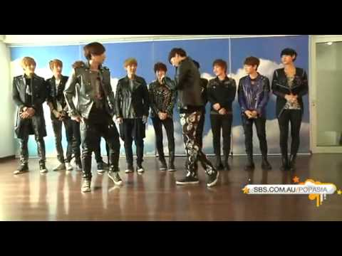 130430 (공개 Publication) 엑소 EXO MAMA Dance Lessons @ S.M building
