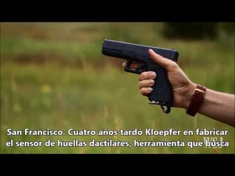 Joven de 19 años crea pistola que se desbloquea con la huella dactilar