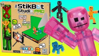#Stikbot HUGE Unboxing 👜 Opening Stikbot Video Set & More Toys 2017