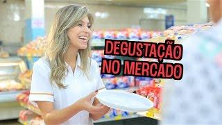Degustação no Mercado - VLOG DESCONFINADOS