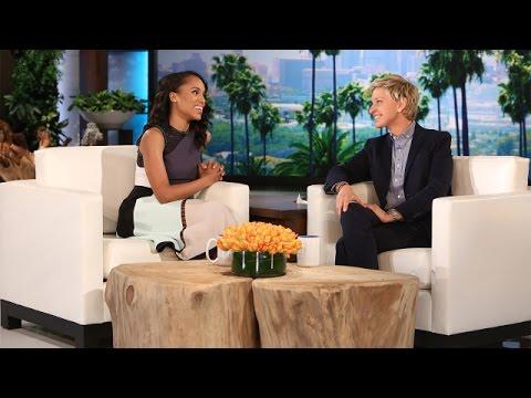 Kerry Washington Talks 'Scandal' Gossip
