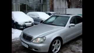 Mersedes Benz S500 98г AКПП