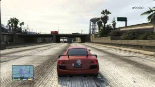 GTA 5 AUDI R8 RACE CAR FUN VS POLICE SPEED LIMIT