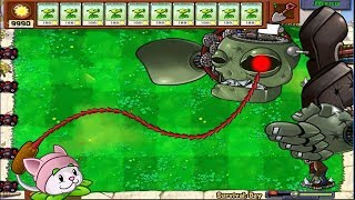 1 Cattail vs Gargantuar - Plants vs Zombies Minigames Zombotany 2