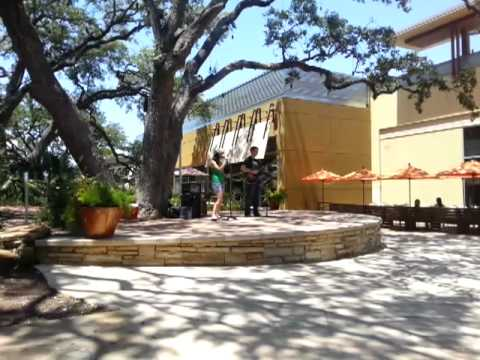 Band performing live @ the Domain Austin, Texas