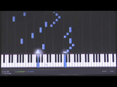 Free Pachelbel's Canon in D Major (in C) Piano Tutorial