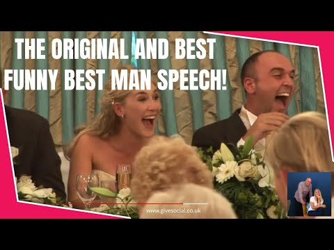 Funniest Best Man Speech Song Ever video