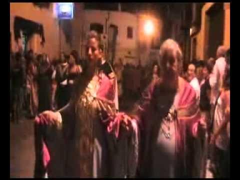 PARTE 1 di 2 – Corteo Storico di Federico II (con Aldo Montano e Antonella Mosetti) – Oria 6/8/2011