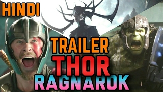 Download THOR Ragnarok Hindi Teaser Trailer Review / Breakdown | Marvel India 3Gp Mp4