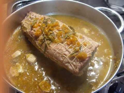 Arrosto di vitello con sedano e carote youtube for Cucinare arrosto