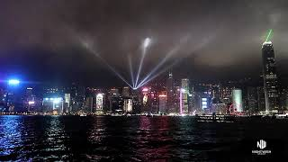Hong Kong, The Symphony of Light Show, Water Front! Vlog 373