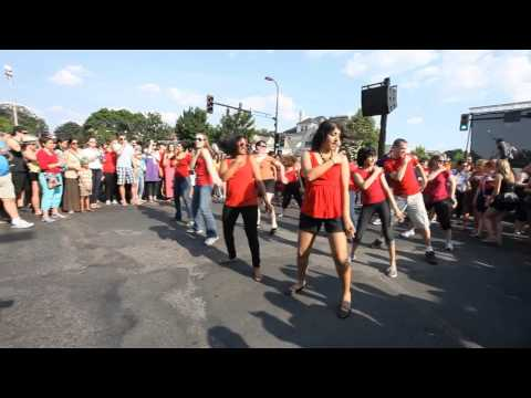 Bollywood Dance Scene - First Ever Bollywood Flash Mob In Minneapolis video