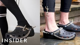 Goth Crocs Are The Perfect Mix Of Comfort And Punk