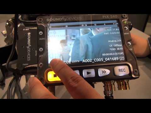 NAB 2012  - Sound Devices PIX-Firmware 2.0