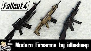 Fallout 4 Mod Showcase: Modern Firearms (Gunsmith Edition) by idlesheep - WhiteShades