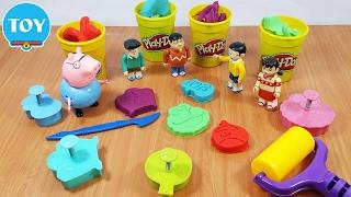 đồ chơi Doremon - Nobita và Xuka thử thách nặn đất set Play Doh