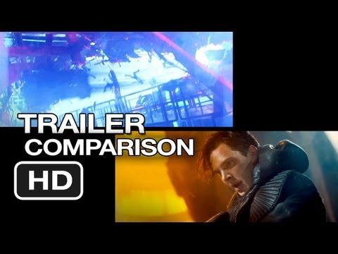 Star Trek Into Darkness Trailer Comparison (2013) - JJ Abrams Movie HD