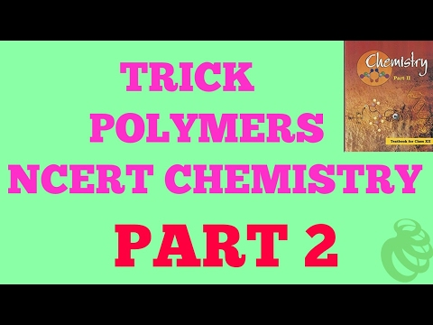 Trick to learn POLYMERS PART 2 thumbnail