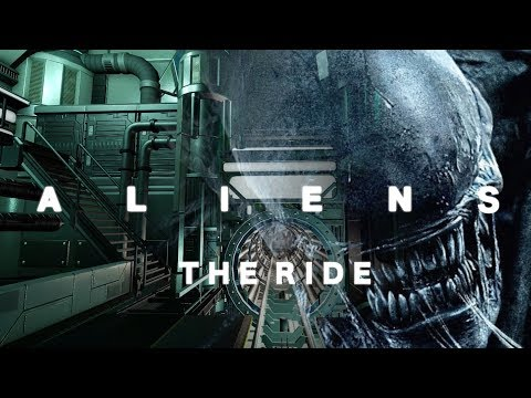 ALIENS THE RIDE�Planet Coaster】