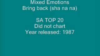 Watch Mixed Emotions Bring Back (sha Na Na) video