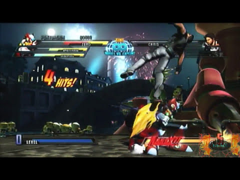 [PS3] Marvel vs Capcom 3 Gameplay