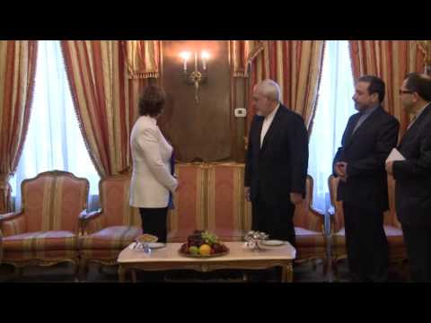 Catherine ASHTON meets with Mohammad Javad ZARIF in new York