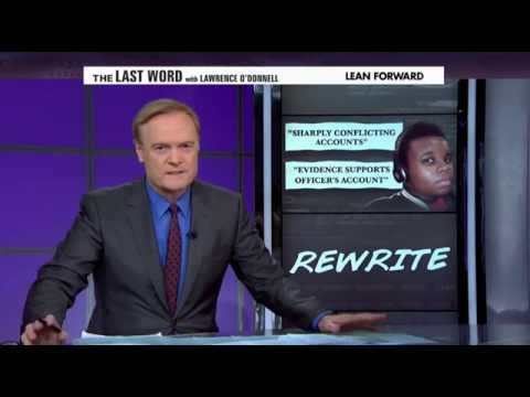 Washington Post Admits to Misleading Americans on Michael Brown Autopsy - Lawrence O'Donnell