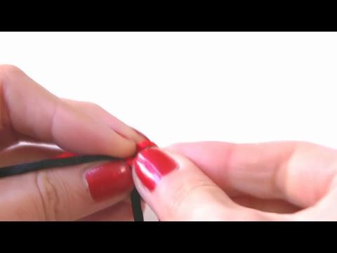Manualidades DIY - Como hacer el nudo serpiente