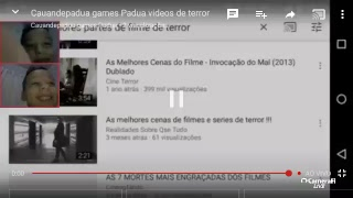 Cauandepadua games Padua videos de terror