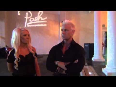 TV starlet Heidi Montag & Brace of Showtime's Gigolo at Crazy Horse III 3 years anniversary vegas