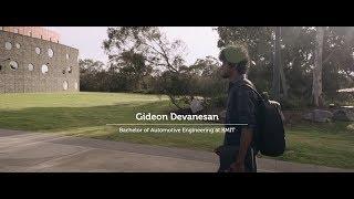 Gideon Devanesan   Bachelor of Automotive Engineering (Honours)   RMIT University