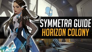 This is Why Horizon is Symmetra's Best Map. A Guide on How to Destroy The Enemy Team - Overwatch
